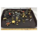 Miniature Brass, Pewter, & Copper Figures