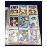 540 Baseball Cards (1974 through 1976)