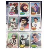 400 Football Cards (1976 & 1977)