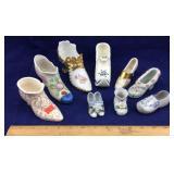 Vintage Miniature Porcelain/Ceramic Shoes