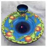 Gates Ware by Laurie Gates: Stand, Platter, Bowl