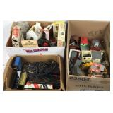 Large Assortment of Model Train Accessories