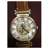Ladies Express LA Watch With Leather Band