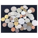 50 British Commonwealth Coins