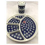 2 Piece Handmade Ceramic Set made in Poland