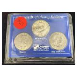 Susan B Anthony First Year Mint Set