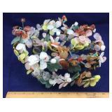Oriental Semi-Precious Stone Floral Tree