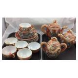 Vintage Gemchina Satsuma Tea Set