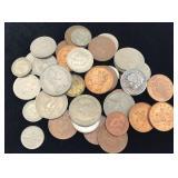 41 British Coins - Old & Modern