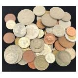 60 British Commonwealth Coins - Old & Modern