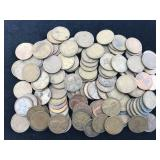 106 Wheat Pennies Dated 1941 - 1958
