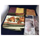 Fall Tablecloths and Table Runners