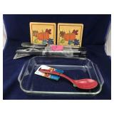 New Outdoor Grill Set and Kitchen Items