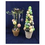 Home Interior Easter Tree and Easter Egg Tree