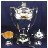Art Deco Royal Rochester Coffee Pot Set