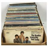 Large Collection of Vinyl LP Records