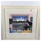 Framed Thomas McKnight Print, Kobe Japan