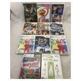 Assortment of Video Games and Movies