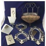 Mirrors, 2 Sets of Wall Sconses Plus