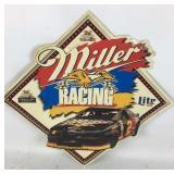 Miller Racing Rusty Wallace Metal Sign