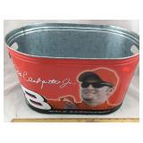 Dale Earnhardt Jr. Metal Beer Bucket