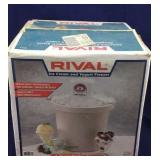 Rival Ice Cream & Yogurt Freezer NIB