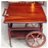 Vintage mahogany Tea trolley