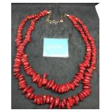 Jay King Coral Necklace