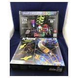 Snap Circuits Light and K'Nex Phoenix Fury Coaster