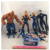 Fantastic 4 Action Figures and Puzzle