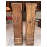 Vintage Pair of Kitchen Cabinets
