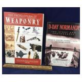 Books on Weaponry and D-Day Normandy