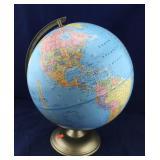 Large Rotating Globe
