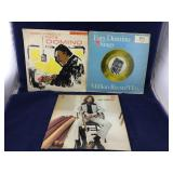 Pair of Fats Domino Albums Plus Eric Clapton Album