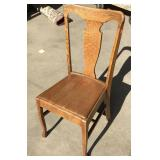 Vintage Oak Chair