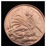 1 Ounce AVDP .999 Copper Bullion Round