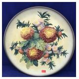 Rare Large Bossons Flower Plate