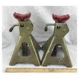 Two 2-Ton Jack Stands