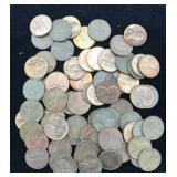 70 Lincoln Cents 1959 - 1980 PDS