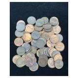 133 Lincoln Cents Dates 1959 - 1980 PDS