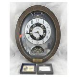 Rhythm Small World Cuorum Motion Clock