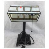 Stained Glass Style Desk Lamp