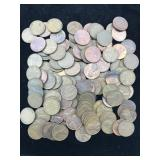 117 Wheat Cents - Various Dates