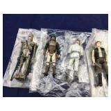 4 Small Vinyl Star Wars Figures