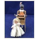 50's Nancy Ann-Type Bisque Storybook Doll, Black