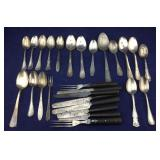 Collection of Vintage Silver Plated Spoons