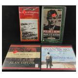 4 Audio Books on War History
