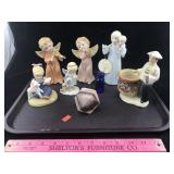 Several Porcelain Figures and More