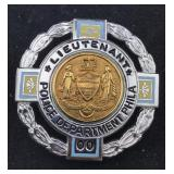 Philadelphia Police Department Lieutenant Badge
