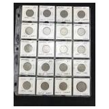 20 German Mark Coins